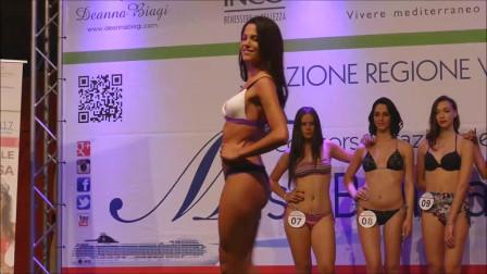 欧美时尚泳装秀,颜值高身材好才是硬实力!