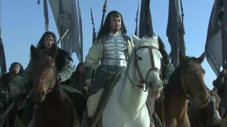 《三国》五虎将马超勇挑曹营诸悍将,最精彩的打斗