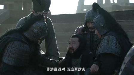 《三国》虎将许褚才是曹操第一保镖,二招之内唬住马超