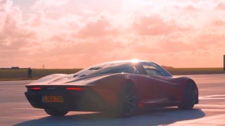不可思议的F35喷气式与迈凯轮Speedtail  Top Gear赛跑.mp4