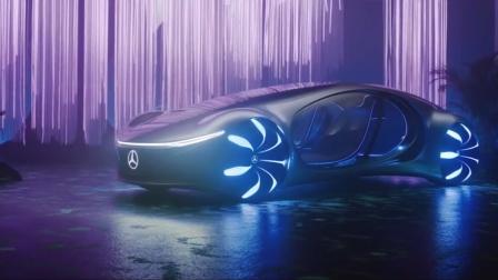 梅赛德斯-奔驰远景AVTR–疯狂概念车CES2020.mp4