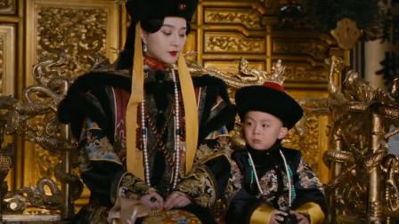 末代皇帝最后一次上朝 还不满5岁