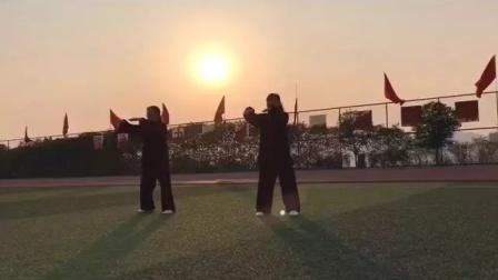 铜仁幼师运动场锻炼42太极拳2019年11月13日