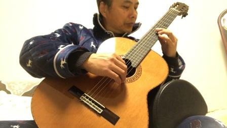 古典吉他    刘军改编的中国经典歌曲《梁祝.化蝶》