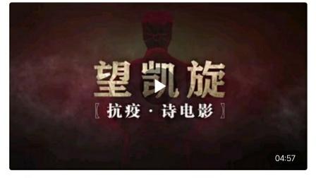 〖望凯旋〗 抗疫·诗电影 著作人/王锦江 琅嬛月 导演/孟欣泉 王锦江