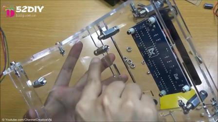 精品DIY如何组装小型激光雕刻机