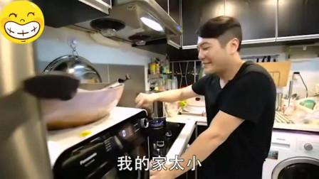 香港人的生活:香港80后靓仔厨师上门做私房菜,收350块一个人要做足八个钟~