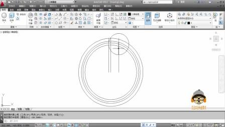 CAD绘制圆柱齿轮