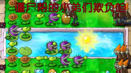 植物大战僵尸 玩过95版再玩经典版虐暴僵尸