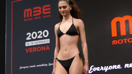 洛杉矶世界小姐泳装秀,靓丽的超模,气场十足