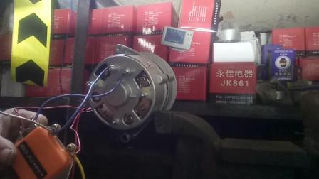 汽车外调发电机接线方法,发电机调节器安装视频