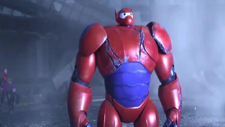 超能陆战队:大白小宏为了救患者进入传送门,看到一个梦幻的世界
