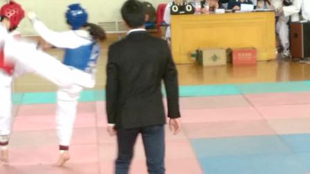 2015年校园跆拳道比赛1