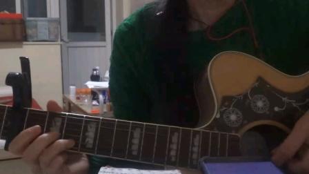 崔健一块红布大雨吉他弹唱