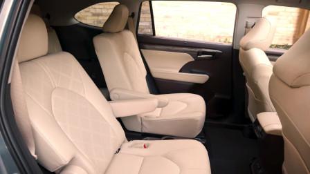最好的家庭SUV2020款丰田汉兰达内饰及外观展示