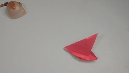 带大家制作帆船折纸,方法就这么简单,跟我一起学