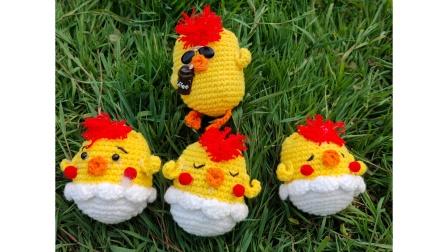 第169集  萌鸡小队鸡蛋包天天编织