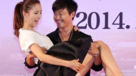 女星被公主抱尴尬现场:杨颖遭咸猪手, 佟丽娅因裙子太短,被陈思诚坑惨了