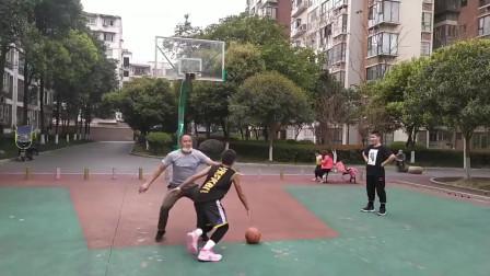 篮球:来自父子局的单挑