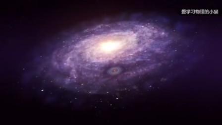 在银河系面前的太阳系显得多么的渺小