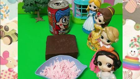 好美味的巧克力啊,白雪公主怎么没有呢?