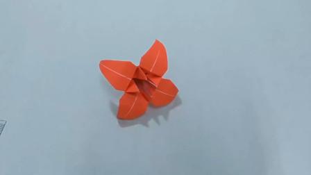 百合花是可以送异性朋友的,今天就教你折叠一只百合花