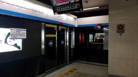 【轨道交通】轮轨声! 南京1号线增购车进新街口站