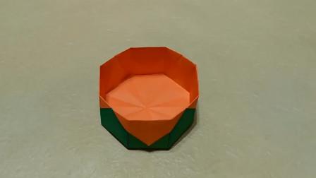 带你折一款不一样的收纳盒,跟我一起学折纸