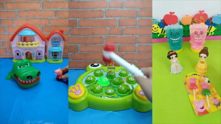 儿童玩具:好玩的打地鼠游戏