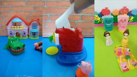 儿童玩具:快告诉猪妈妈麦琪要的什么味面条