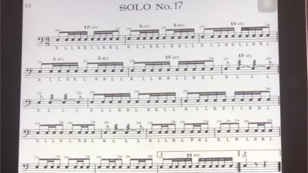 美国军鼓150条 solo No.17(示范)