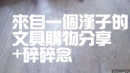 一個汉子的購物分享/MUJI/ 三菱/文具/学习