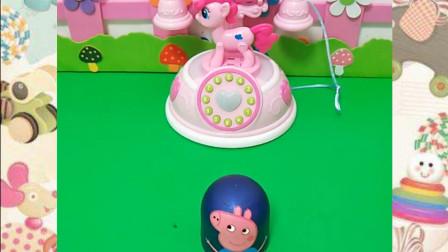 粉色的小鹿电话真漂亮,小朋友喜欢吗?