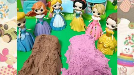 公主们不同的发型,小朋友喜欢哪位公主的?