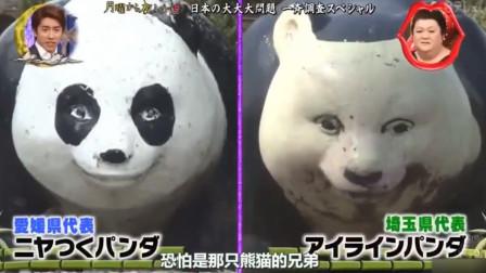 日本熊猫雕像各个都奇葩,最后一个太搞笑了,网友:近视得治