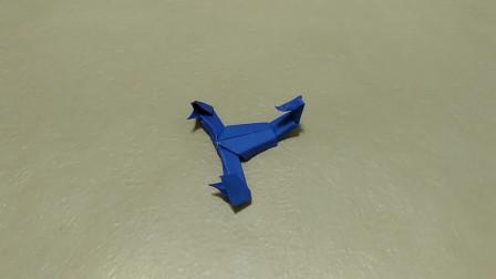 教你学习折叠一款蝎子折纸,几分钟你也能学会