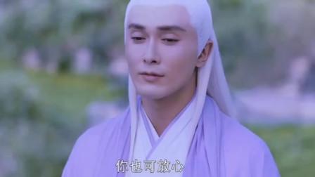 连宋猜出帝君要娶凤九,帝君调皮地拿一只眼睛盯着他