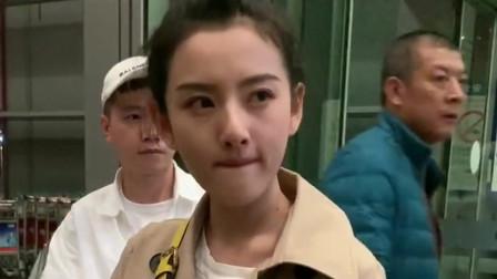 机场偶遇宋祖儿,我还是第一次见到她本人,长的也太漂亮了吧!