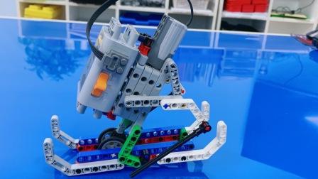 乐高滑雪机器人