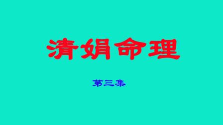 杨清娟盲派八字命理---第3集