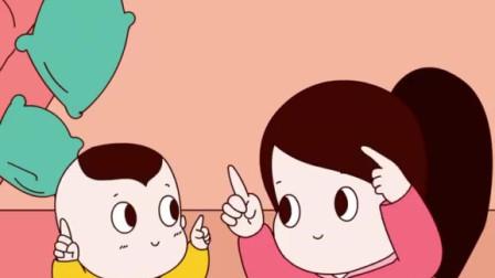 一起来合拍,跟我学唱英文歌……哎呀,妈妈你唱慢一点