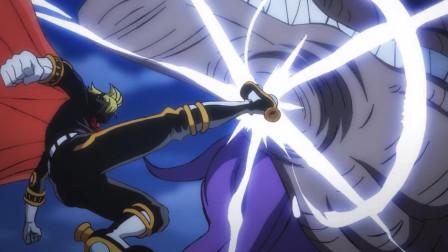 海贼王925(上),山治变身,攻击与防御力爆增