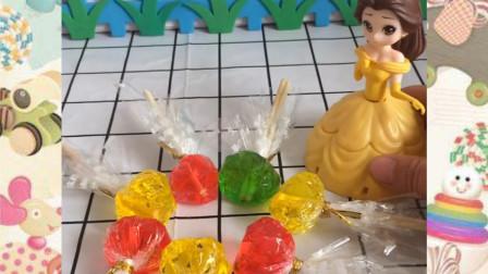 贝尔公主偷吃了白雪的糖果,贝尔还不承认