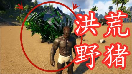 方舟生存者小路09:变异野猪,战斗力不输霸王龙