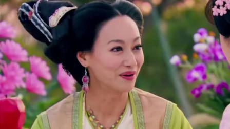 隋唐英雄:长孙无忧精通棋道,跟李夫人对弈,世民和无忌观战