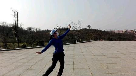 辣妈潮敏广场舞《岁岁平安》编舞杨艺老师