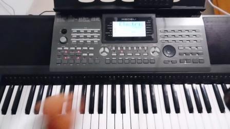 美得理电子琴a850扩展!