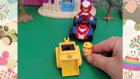 小丽的车子是黄色的吗?怎么这么慢呀