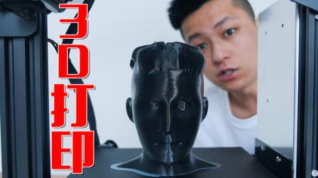 听了那么久的3D打印机!我用打印机自己头效果怎么样?
