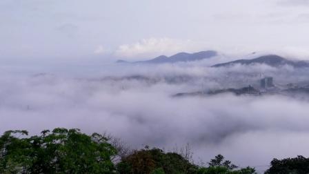 摩旅:海陵岛《天麓山》看云海